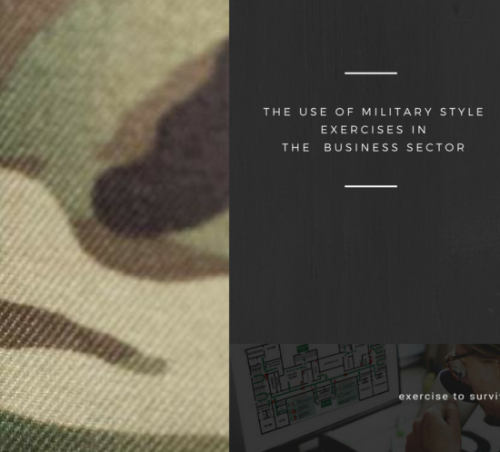 Military Style Exercises in the Business Sector